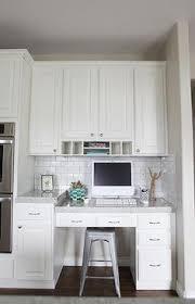 office in kitchen. Jana Bek Design - Kitchens Kitchen Office, Office In Kitchen, Desk, P