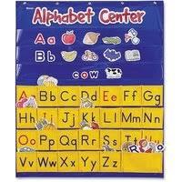Shop Scholastic Standard Pocket Charts 34 X 44 Black Clear