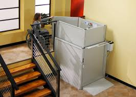 commercial wheelchair lift. Commercial Vertical Platform Lift Wheelchair