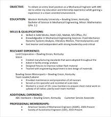 Entry Level Resume Templates Cool 48 Entry Level Resume Templates To Download Sample Templates