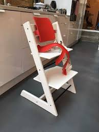 stokke tripp trapp chair with strapps