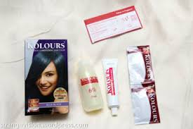 Kolours Hair Color Chart Philippines Kolours Dual Conditioning Hair Color Blue Black What I