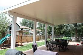 insulated laminated roof panel patio