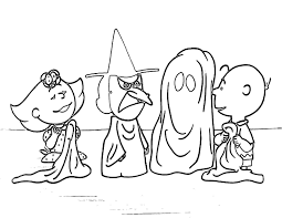 Halloween Coloring Pages For Young Kids