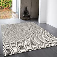 ives black white classic abstract rug by asiatic 1