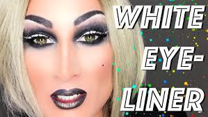 eyeliner and smokey eyes drag queen makeup transformation tutorial