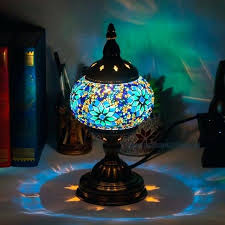 turkish table lamps style art mosaic table lamp handcrafted mosaic glass romantic bed light turkish table lamps australia