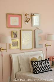 Pink And Gold Bedroom Decor 1000 Ideas About Coral Girls Rooms On Pinterest Coral Girls