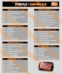 p90x3 doubles schedule