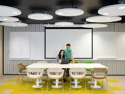 Philips Bathroom Lights India Fluctuating Led Office Lights Offer Workers Caffeine Like