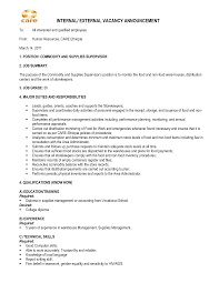 Internal Covering Letter Example 73 Images Cover Letter For