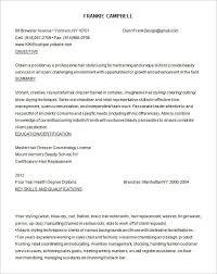 Hair Stylist Resume Classy 28 Hair Stylist Resume Templates DOC PDF Free Premium Templates