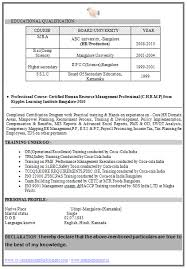 cv format ca articleship resume format for articleship