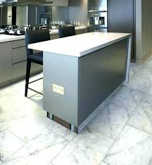 white marble tile kitchen. Contemporary Tile Marble Tile Kitchen Floor White  Long Island Honed Cabinets  Inside
