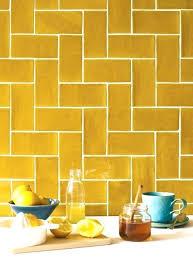 Yellow subway tile Bathroom Yellow Subway Tile Yellow Kitchen Tiles Ideas Yellow Tile Pale Yellow Subway Tile Yellow Subway Tile Kitchen Backsplash Susan Jablon Mosaics Yellow Subway Tile Yellow Kitchen Tiles Ideas Yellow Tile Pale