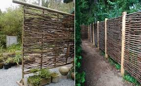 L Use Wattle As A Fencing Material