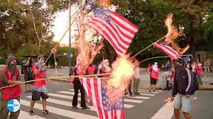 Image result for burn flags images