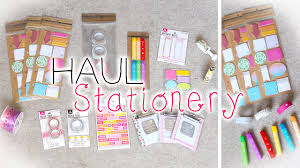 cute planner stationery supplies haul new michaels planner items you