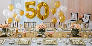table decorations 50th wedding anniversary decorations party supplies smartness 11 golden 50th