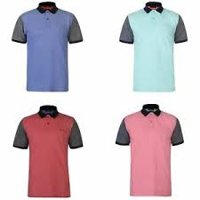 Pierre Cardin Polo Shirt Size Chart Details About Pierre Cardin Contrast Collar Sleeves Polo Shirt Mens Top Tee Casual T Shirt