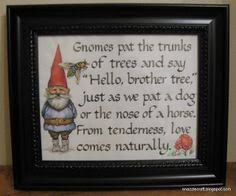 Chillin' With My Gnomies on Pinterest | Gnomes, Garden Gnomes and ...