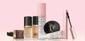 s just want to have fun with their makeup full of whimsy and fantasy too faced s s are decked out with hearts rainbows unicorns and plenty of