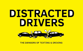 distracted drivers the dangers of texting driving ly