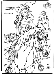 Lego Friends Horse Coloring Pages