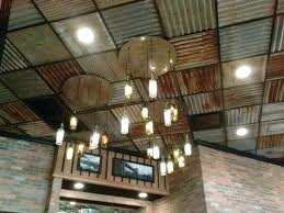 ceiling tin tiles corrugated metal basement installation sheet panels faux chea