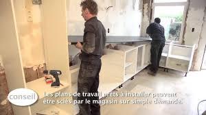 Faire Plan Cuisine Ikea Installer Une Cuisine Et Un Plan De Travail