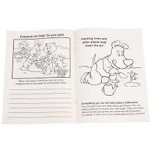 4imprintcom Keep Our Environment Clean Coloring Book 1034 Kec
