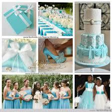 nigerian wedding Tiffany blue and white wedding color scheme
