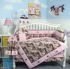 baby girl nursery bedding awesome soho pink camo baby crib nursery bedding set 13 pcs
