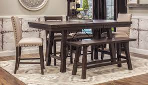 dahlia table 4 counter height stools 2 parson chairs