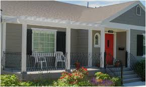Awesome Picture Of Contemporary Front Porch Designs Fabulous ...