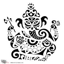Tattoo Of Ganesha Prosperity Luck Tattoo Custom Tattoo Designs