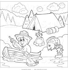 Girl Scout To Color Clipart Clipart