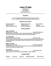 jobresumeweb  sample college student resume crouseprintingthe office of career services