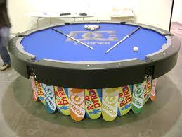 Rob Dyrdek's Round Custom Pool Table
