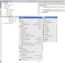 How To Create A Directory How To Create New Res Folder In Android Studio Stack Overflow