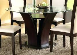 round glass table top contemporary 1 4 thick flat edge tempered with regard to plan 3