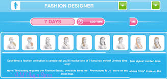 Fashion Design Hobby Sims Freeplay The Sims Freeplay Long Hairstyle Event A M Plays Sims