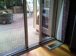 sliding doors retractable fly screens for french doors