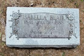 Isabella Blair (1841 - 1888) - Genealogy