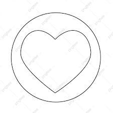 ハートのアイコン ハートのアイコン 愛のシンボル レトロ画像素材の無料