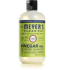 lemon verbena vinegar gel cleaner