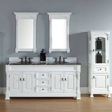 White Double Bathroom Vanities Double Sink 72 Inch Bathroom Vanity The Homy Design
