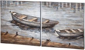 home accents boat wall art set of 2 at park home on boat wall art with home accents boat wall art set of 2 at park home master bedroom