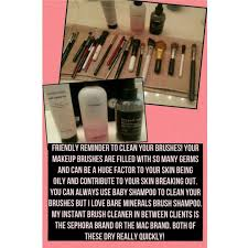 clean your makeup brushes naturally 5 1 the beauty vanity bareminerals