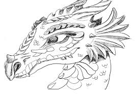 Printable Coloring Pages Dragon